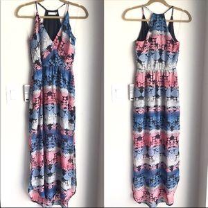NWOT Lush Printed Maxi Dress